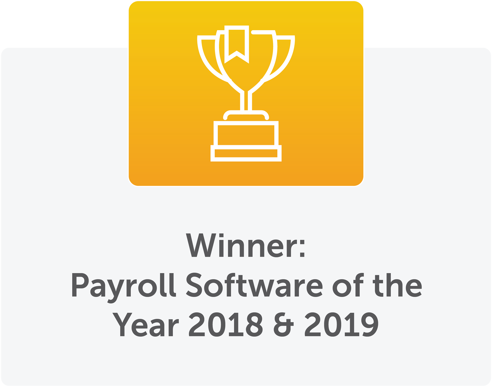 award winning payroll software
