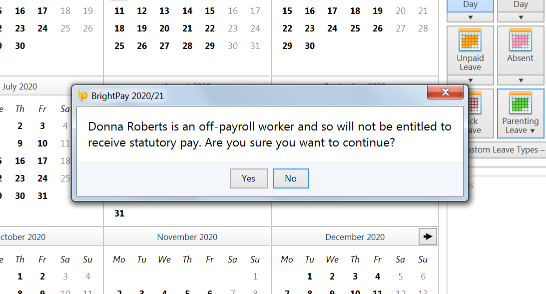 leave entitlements for off-payroll workers